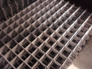 Welded Square Hole Steel Wire Mesh pictures & photos