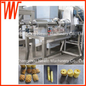 Industrial Pineapple Peeling and Coring Machine 6-12 PCS/Min pictures & photos