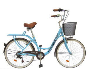"""Rear 7speed 24"""" City Bike Girl Bicycle (FP-LDB-042) pictures & photos"""