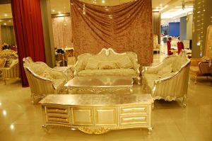 Hotel Luxury Classical Living Room Sofa (A11009)