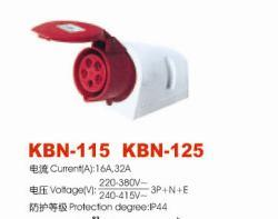 Industrial Plugs and Socket (KBN-115; -125)