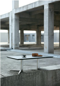 High Grade Tea Table with Stainless Steel Leg (CT-V5) pictures & photos