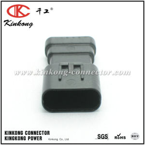 Kinkong New Molded 6 Pin Male Automotive Electrical Connectors pictures & photos