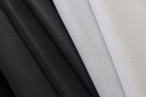 Metre Heavy Weight Non-Woven Fusible Interlining (BUKRAM) pictures & photos