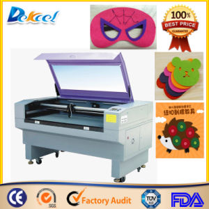 Jinan Factory CNC Cutter CO2 Laser Cutting Fabric Felts Machine pictures & photos