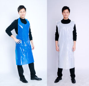 Disposable Plastic PE Individual Packed Disposable Plastic Apron pictures & photos