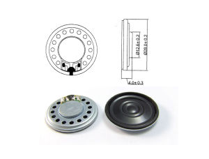 28mm 8-16ohm 0.25ohm 0.25-1.5W Loudspeaker pictures & photos