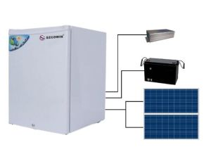 Large Cubage Solar Power Charging Refrigertor Deep Freezer pictures & photos