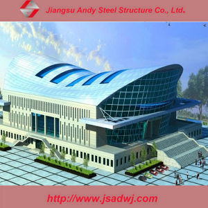 Design Galvanized Steel Roof Building Steel Construction pictures & photos