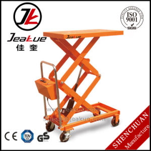 China Factory Price Economic Manual Portable Lift Table with Modern Design pictures & photos