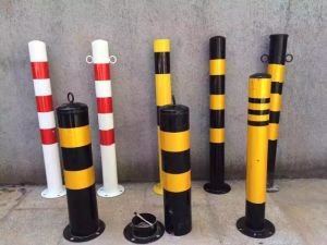Iron 500mm Warning Post for Traffic safety Flexible Warning Bollard pictures & photos