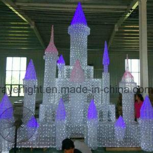 Amusement Park LED Castle Light Christmas Outdoor Decoration pictures & photos