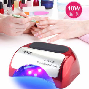 Wholesales High Quality 48W CCFL LED Nail Lamp pictures & photos