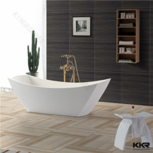 Kingkonree Solid Surface Artifical Stone Bathtub, Standing Bathtub pictures & photos