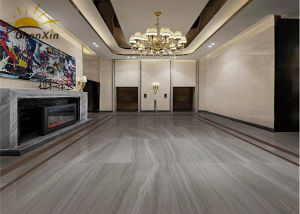 Acid Resistant Grey Polished Porcelain Floor Tiles 600X600 Indoor Brick Floor Tile pictures & photos