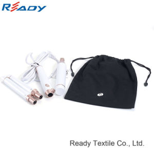 Customized T3 Black Cotton Drawstring Storage Pouch for Hair Drier pictures & photos