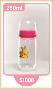 New Type Ergonomic PP Newborn Baby Feeding Bottle 180ml/240ml pictures & photos