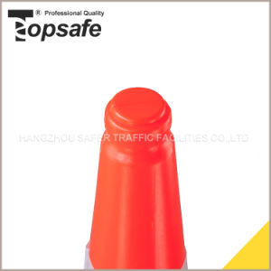 1m LDPE Fluorescent Orangetwo Parts Traffic Cones (S-1204L) pictures & photos