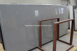 Crystal Light Grey Artificial Stone Quartz for Floor Tile pictures & photos