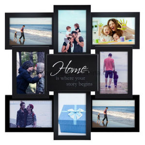 Plastic Multi Openning Home Decoration Collage Photo Frame pictures & photos