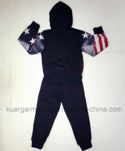 Boy Children′ S Sport Suit for Kids Clothing pictures & photos