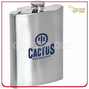 Personalized Printed Stainless Steel Hip Flask for Promotional Gift pictures & photos