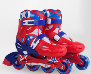 Plastic Inline Skate with Cheapest Price (YV-136) pictures & photos