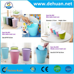 Fancy Plastic Mini Household Recycle Garbage Dustbin pictures & photos