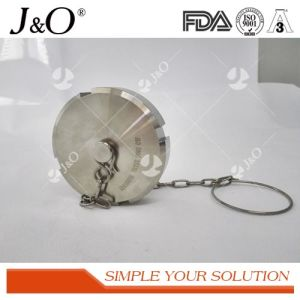 Sanitary Blind Nut with Chains Sanitary Union pictures & photos