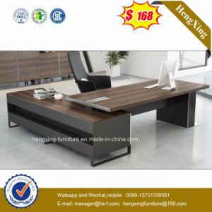 Walnut Melamine Laminated Modern Office Table (HX-ET14041) pictures & photos
