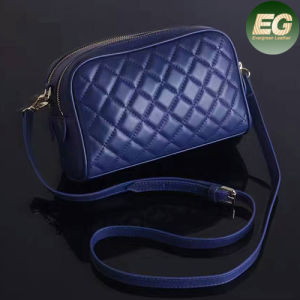 European Hot Style Real Leather Handbags Grid Ladies Shoulder Bags for Women Emg4945 pictures & photos
