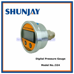 Back Connection Digital Pressure Gauge