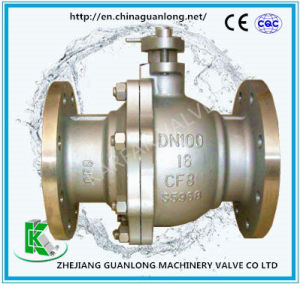 Cast Floating Ball Valve (Q41F) pictures & photos