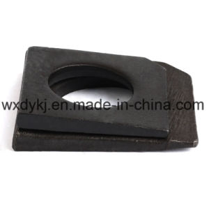 Black Steel Square Taper Washer pictures & photos