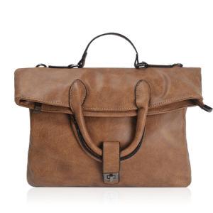 European Style Vintage Foldover Satchel Bags Women Handbags