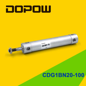 Dopow Cdg1bn20-100 Compact Pneumatic Mini Cylinder pictures & photos