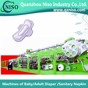 China Machine Sanitary Napkin Production Line (HY400) pictures & photos