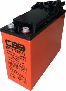 12V 55ah Front Access Terminal AGM Battery for Telecom System pictures & photos