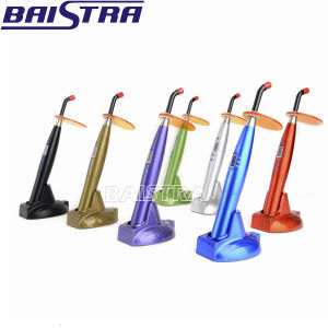 Colorful Wireless Dental LED Curing Light pictures & photos