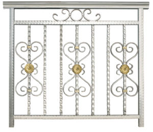 Horizontal Steel Fence Design Metal Steel Fence pictures & photos