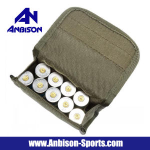 12g 10-Holes Waterproof Hunting Airsoft Shotgun Shell Pouch pictures & photos