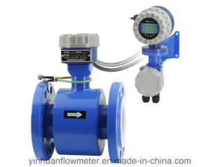 Ze Intelligent Converter Flange Divided Type Electromagnetic Flowmeter pictures & photos