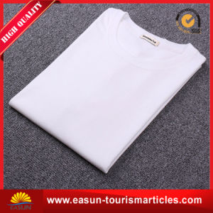 Ladies Short Bamboo T-Shirt with Simple Designs pictures & photos
