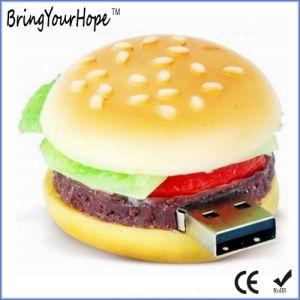 3D PVC Design Hamburger Shape USB Flash Drive (XH-USB-124) pictures & photos