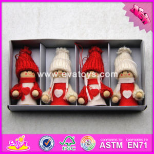 2017 New Products Baby Cartoon Dolls Wooden Best Toys for Christmas W02A237 pictures & photos