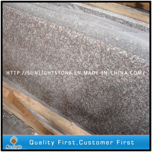 Polished Full Bullnose G664 Pink Granite Countertops for Kitchen & Bathroom pictures & photos