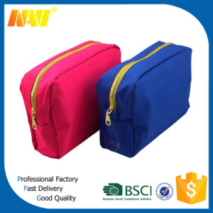 High Quality Nylon Luxury Cosmetic Bag with Metal Zipper pictures & photos