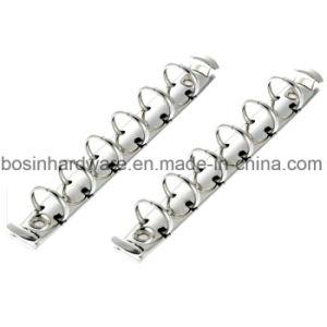 Letter Metal 6 Ring Binder Mechanism pictures & photos