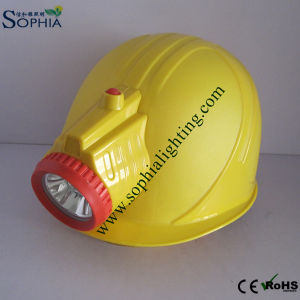 3W Waterproof and Rechargeable Helmet Cap Lamp for Auto Repair Soldering