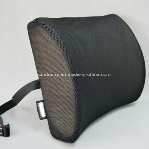 Memory Foam Lumbar Cushion with Breathable Cover